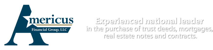 Experienced national leader in the purchase of trust deeds, mortgages, real estate notes and contracts